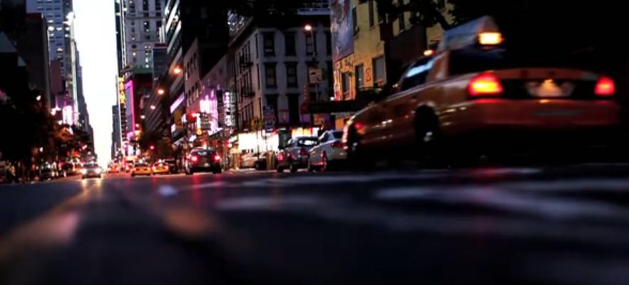 Úžasné video zachycující ruch v New Yorku 1
