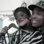 A$AP Rocky a Rihanna v klipu Fashion Killa 6