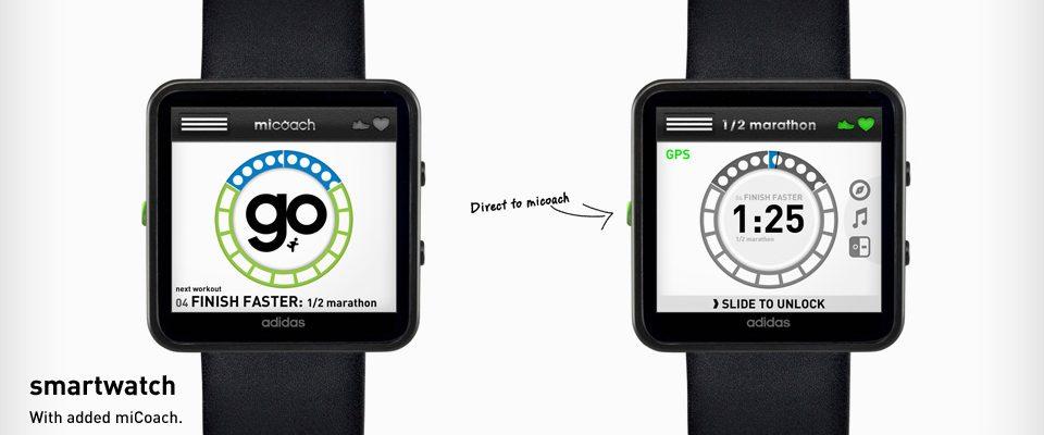 Chytré hodinky od Adidasu 1