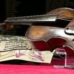 Housle z Titaniku prodány za 1,4 mil. $