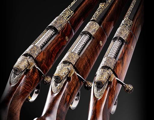 Luxusní pušky Vapen 1