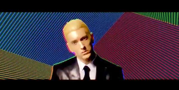 """Eminem představuje videoklip v singlu """"Rap God"""" 1"""