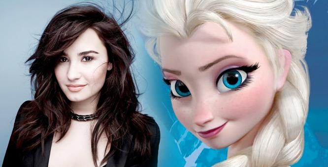 """Demi Lovato a její nejnovější klip """"Let It Go""""  1"""