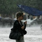 Přichází nový vynález: neviditelný deštník. Jak funguje?