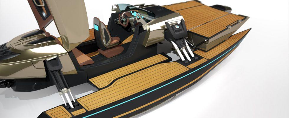 Kormaran - člun který  se brzy stane realitou. 1