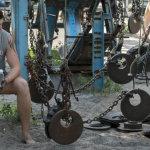 Koukněte se na nejdrsnější ukrajinskou posilovnu 3