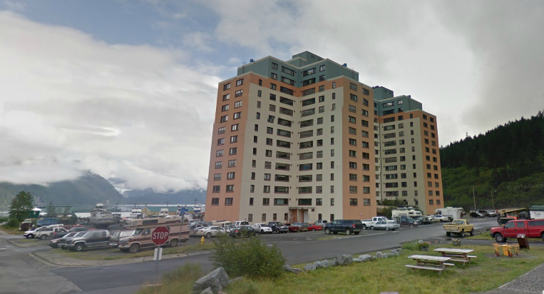 Begich Towers Condos in Whittier AK