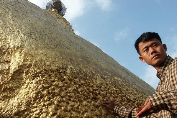 Zlatá skála z Myanmaru 1