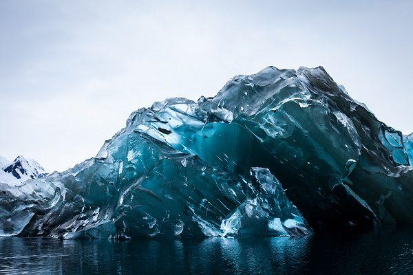 Proč vypadá tento ledovec jinak a je vůbec z naší planety? 1