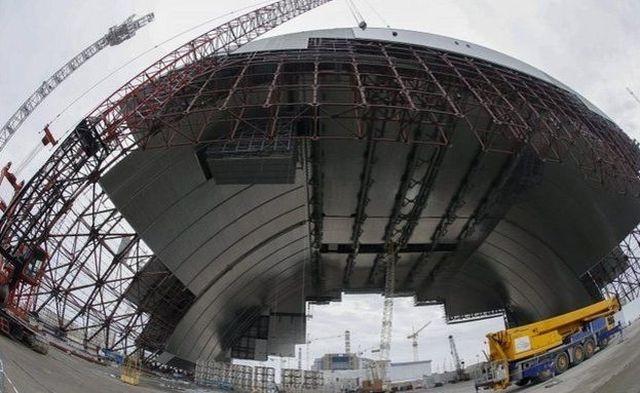 Nový sarkofág pohřbí Černobyl. Jak bude vypadat? 1