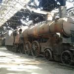 Opuštěný hřbitov vlaků: Směřovaly i do Osvětimi 2