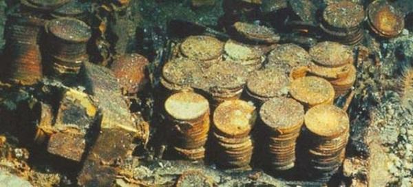 Poklad z potopené lodi je opět na souši, má nevyčíslitelnou hodnotu 1