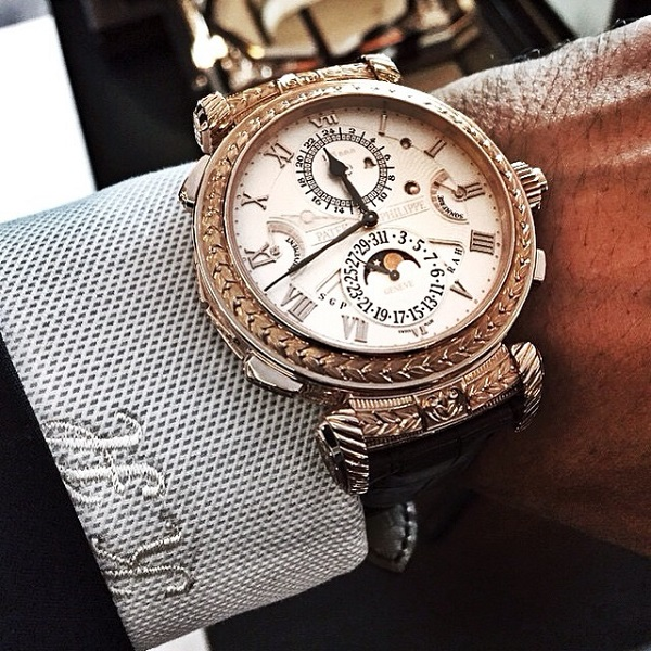 The-Patek-Philippe-Grand-Master-Chime-on-the-wrist-of-brother-K-@PatekCollector.-The-watch-is-double