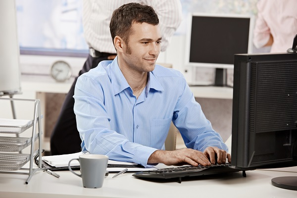 bigstock-Casual-businessman-working-in-13106537