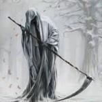 Existuje Smrtka v podobě kostlivce s kosou?