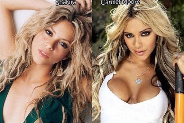 Celebrity, které mají své dvojnice v pornu. 1