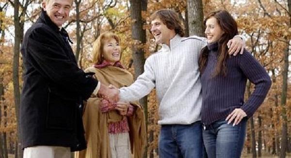 Pět chyb, které děláte při setkání s jejími rodiči 1
