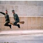 Když se vojáci ve službě baví