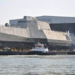 Futuristická loď je na vodě. Změní USS Zumwalt boj na moři? 11