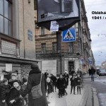 Záběry z druhé světové války se prolínají se současností