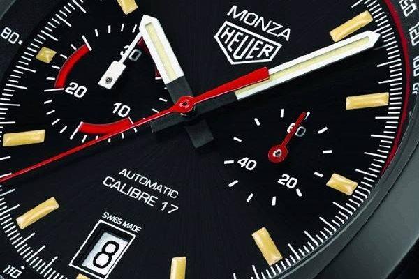 Heuer Monza Chronograph vzpomíná na slavná vítězství Ferrari 1