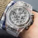 Nejprůhlednější hodinky Hublot Big Bang Unico Sapphire 6