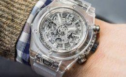 Nejprůhlednější hodinky Hublot Big Bang Unico Sapphire 5