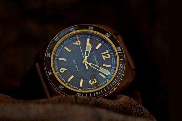 "G.GERLACH SUBMARINE - hodinky od polského ""Edisona"" 1"