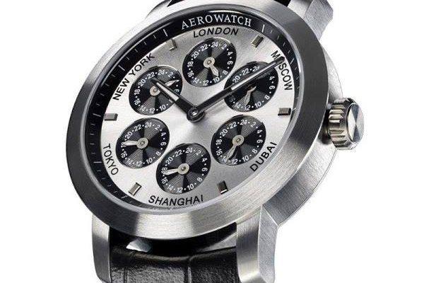 AEROWATCH RENAISSANCE 7 TIME ZONES  - sedm časových pásem v jednom 1