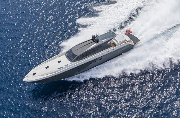 Otam Millennium 80HT elegantní a rychlá super jachta 1