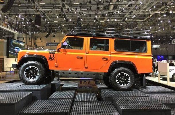 Starý Land Rover Defender se na chvíli vrátí do výroby 1