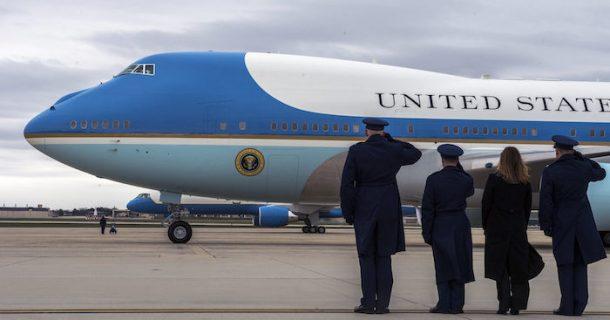 Trumpovo letadlo dostane dvě lednice za 24 milionů dolarů 1