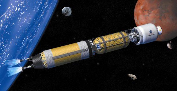 NASA testuje jaderný reaktor pro astronauty na Marsu 1