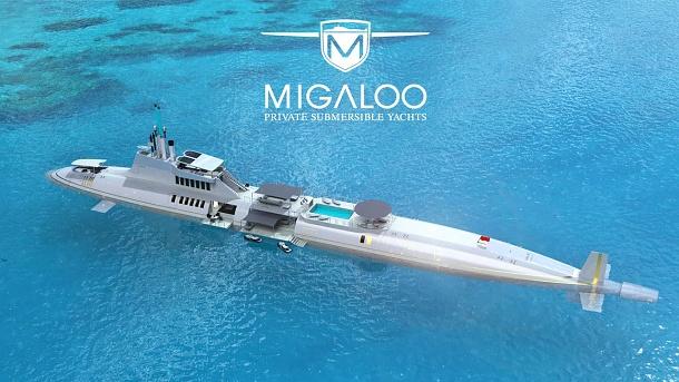 Láká vás představa vlastní luxusní ponorky? Připravte si dvě miliardy dolarů 1