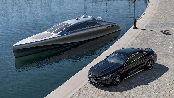 Mega luxusní jachta od Mercedes-Benz jen pro deset šťastlivců 1