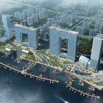 Číňané představili první plány plavajícího města, ve kterém budou ponorky, lodě a elektromobily 5