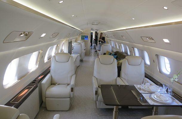 Co všechno se nachází v soukromém letadle za 53 milionů dolarů? 1