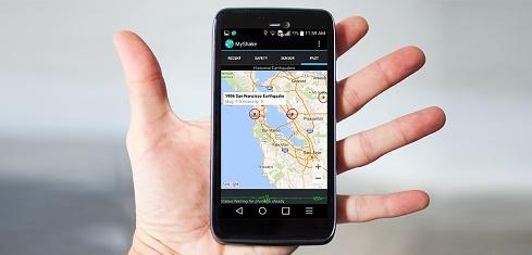 Aplikace vám oznámí příchod zemětřesení 1