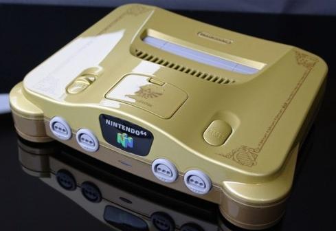 Legendární Nintendo má limitovanou edici z 24-karátového zlata 1