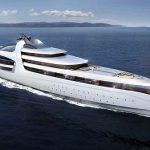Admiral Yachts představil super jachtu X- Force dlouhou 145 metrů 2