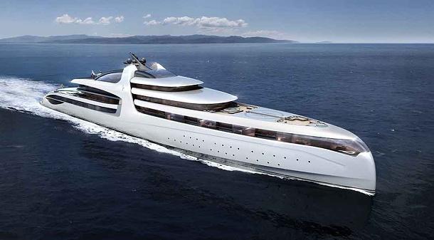 Admiral Yachts představil super jachtu X- Force dlouhou 145 metrů 1