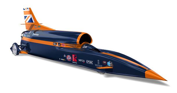 Bloodhound SCS: nejrychlejší jízda světa 1