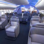 Společnost Boeing ukázala, jak si představuje komfortní cestování letadlem 7