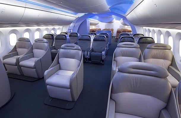 Společnost Boeing ukázala, jak si představuje komfortní cestování letadlem 1
