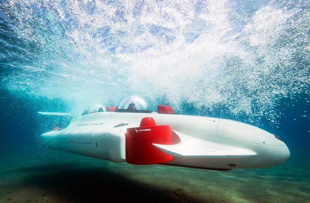 Deepflight Dragin: lehko ovladatelná osobní ponorka za 1,5 miliónů dolarů 1