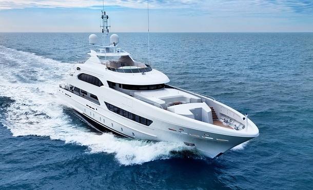 Heesen Ann G: elegantní jachta ve velkém stylu 1