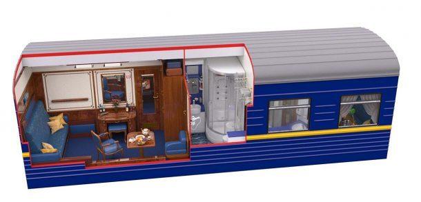 Nejluxusnější vlaky světa 1