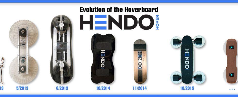 První a zároveň nejmenší skateboard, který se vznáší ve vzduchu, je na světě! 1