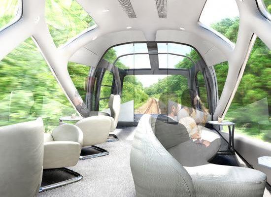 Japonci připravují novou vlakovou dopravu pro zazobané důchodce 1