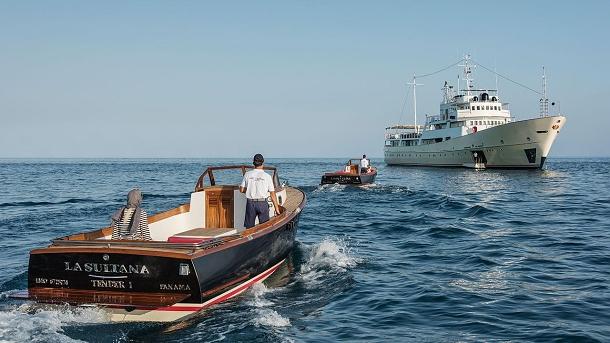 La Sultana: Sovětská, průzkumná super jachta 1